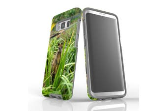 For Samsung Galaxy S8 Case Armour Cover, Hiding Wallaby