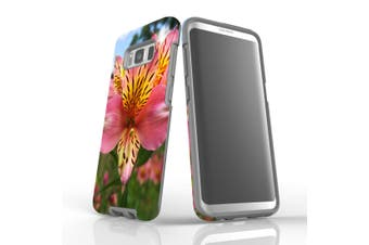 For Samsung Galaxy S8 Case Armour Cover, Flowering