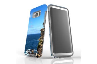 For Samsung Galaxy S8 Case Armour Cover, Ocean Cliffs
