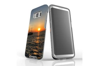 For Samsung Galaxy S8 Case Armour Cover, Sailing Sunset