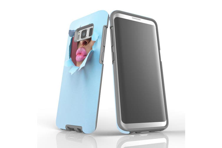 For Samsung Galaxy S8 Shielding Case, Pink Lips