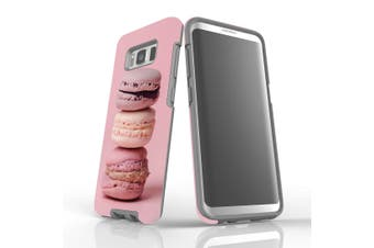 For Samsung Galaxy S8 Shielding Case, Pink Macarons