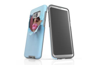 For Samsung Galaxy S8+ Plus Shielding Case, Pink Lips