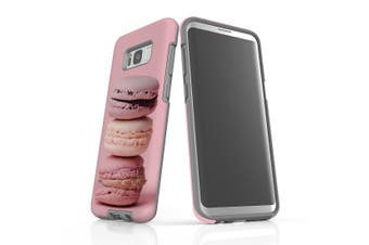 For Samsung Galaxy S8+ Plus Shielding Case, Pink Macarons