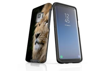 For Samsung Galaxy S9 Case, Armour Tough Cover, Lion