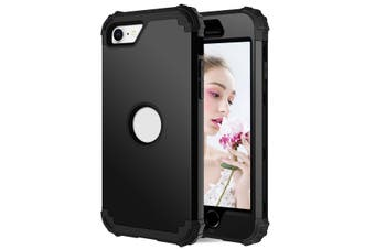 For iPhone SE 2020 Case, Protective Cover, Black