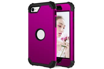 For iPhone SE 2020 Case, Protective Cover, Purple