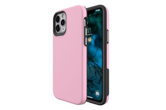 For iPhone 12 Pro/12 Case, Shockproof Protective Cover Pink