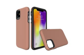 For iPhone 11 Case, Shockproof Protective Strong Cover Camel