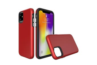 For iPhone 11 Case, Shockproof Protective Strong Cover Red