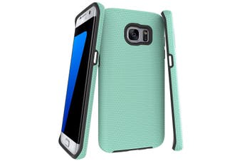 For Samsung Galaxy S7 EDGE Case  Mint Armor Shockproof Protective Phone Cover