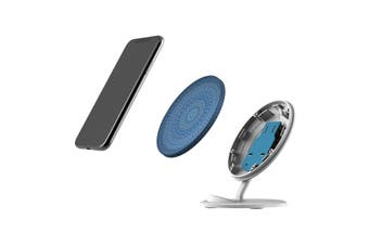 QI Wireless Charger For iPhone 11 Samsung Galaxy S20+ S20 Ultra Note 10+ Spirals