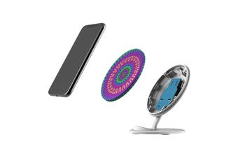 QI Wireless Charger For iPhone 11 Samsung Galaxy S20+ S20 Ultra Note 10+ Mandala