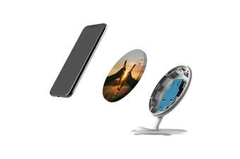 QI Wireless Charger For iPhone 11 Samsung Galaxy S20+ S20 Ultra Note 10+ Cheers