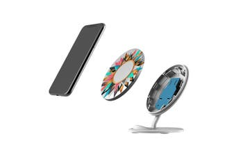 QI Wireless Charger For iPhone 11 Samsung Galaxy S20+ S20 Ultra Note 10+ Circle