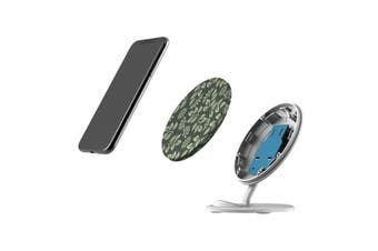 QI Wireless Charger For iPhone 11 Samsung Galaxy S20+ S20 Ultra Note 10+ Flowers