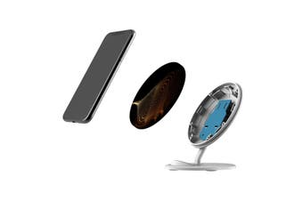 QI Wireless Charger For iPhone 11 Samsung Galaxy S20+ S20 Ultra S10+ Particles
