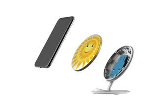 QI Wireless Charger For iPhone 11 Samsung Galaxy S20+ S20 Ultra Note 10+ Sun
