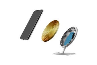 QI Wireless Charger For iPhone 11 Samsung Galaxy S20+ S20 Ultra Note 10+ Waves