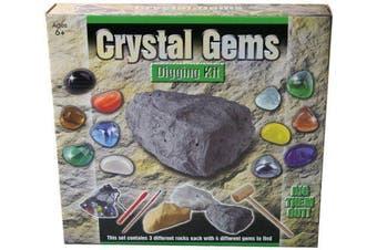 Crystal Gems Digging Kit