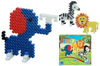 Zoo Animals Spray and Stick Beads