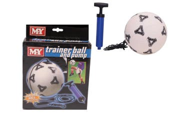 Soccer Ball Trainer and Pump