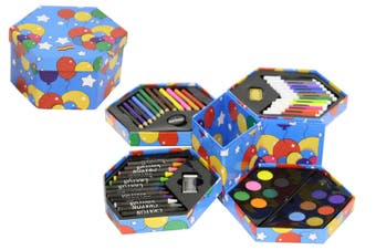 Hexagonal Art Craft Set (52pcs)