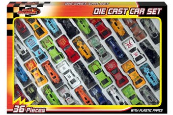 Die Cast Car Set