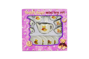 Teddy Bear Mini Tea Set
