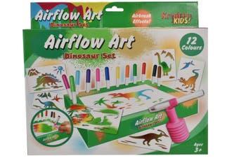 Dinosaur Air Flow Pens Playset