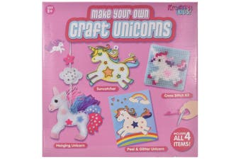 Make Your Own 4 In 1 Craft Unicorn Playset