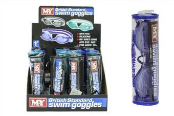 Swimming Goggles in Black