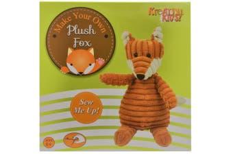 Make Your Own Plush Fox