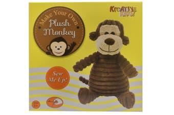 Make Your Own Plush Monkey