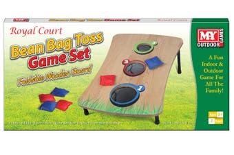 Wooden Bean Bag Toss Game Set
