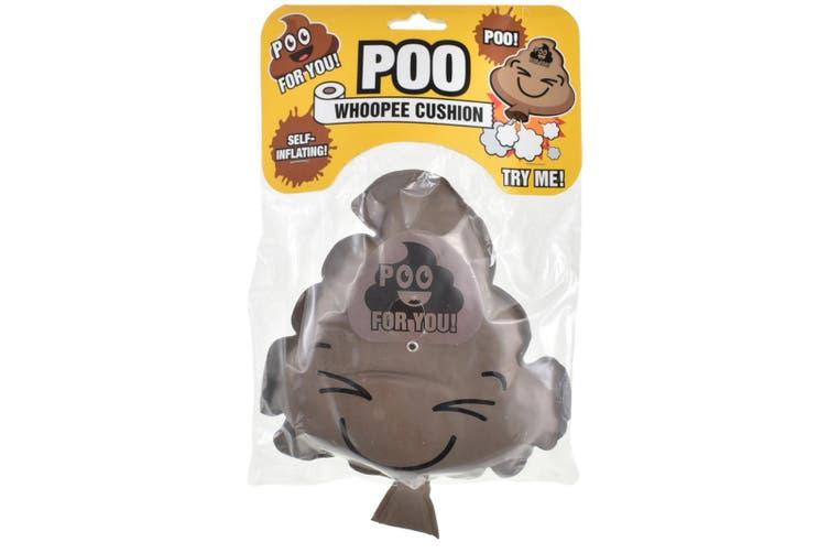 Poo Shape Self Inflating Whoopee Cushion