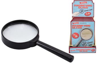 Retro Magnifying Glass