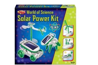 Solar Power Science Kit (6 in 1)