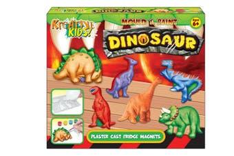 Dinosaur Mould and Paint Fridge Magnet Kit