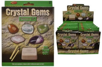 Crystal Gems Digging Science Kit