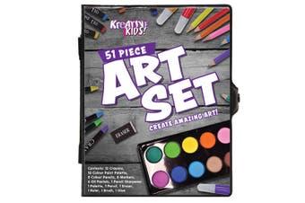 Art Set in Colour Case (51 pieces)