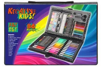 Art Set in Colour Case (86 pieces)