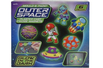 Outer Space Fridge Magnet Glow Kit