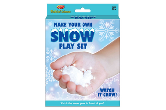 Make Your Own Snow Play Set
