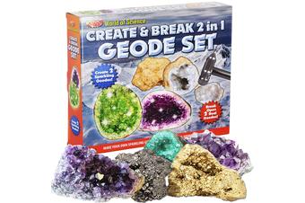 Create & Break 2 in 1 Geode Set