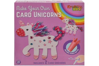 Make Your Own Card Unicorns