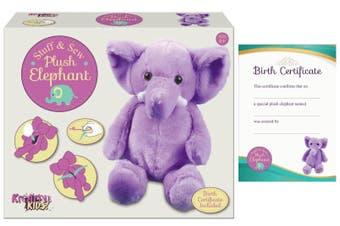 Make Your Own Plush Elephant