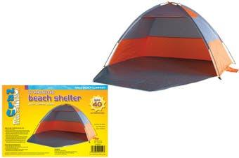 Beach Tent Shelter with Zipper Door (SPF40)