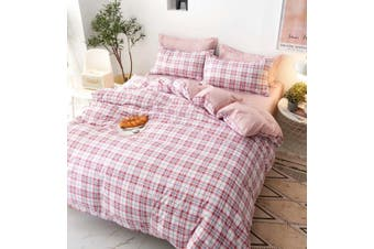 100% Cotton Quilt Cover 3 Pieces Bedding Set King