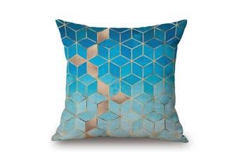 EHOMMATE 45*45cm Geometry Cotton&linen Pillow Cover 80757